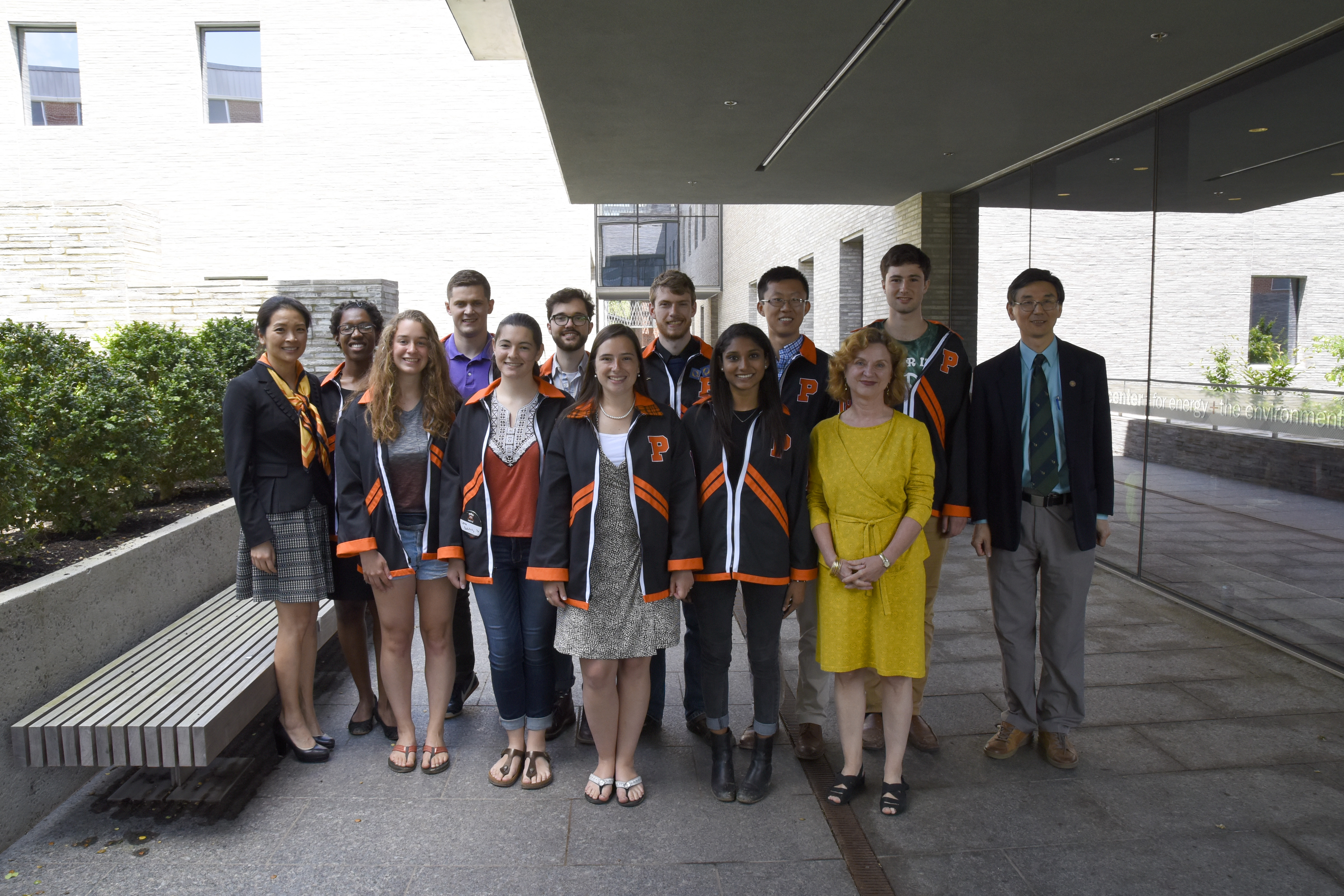 The 2018 Sustainable Energy Certificate students gathered to celebrate on June 4 at the Andlinger Center Class Day Reception.