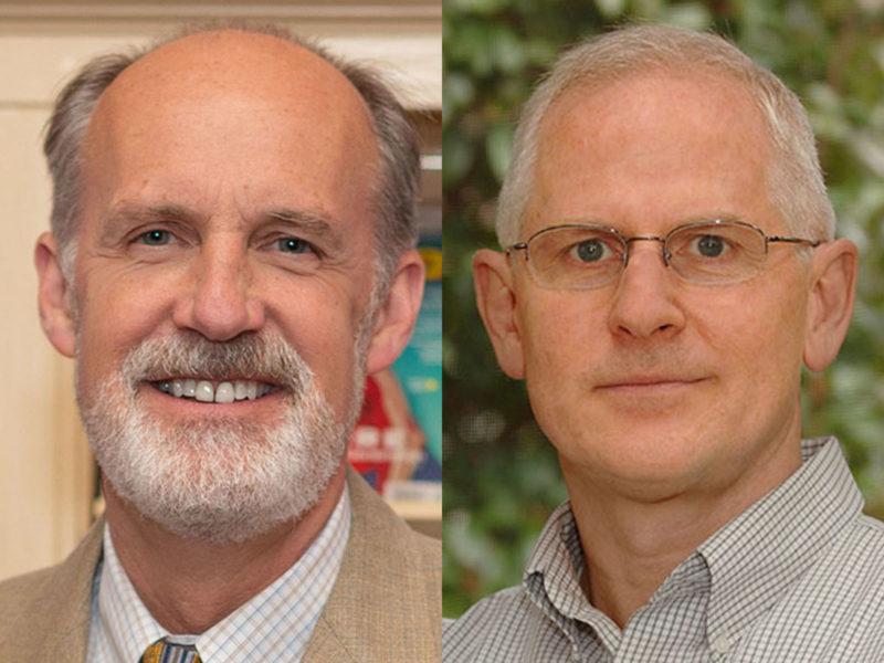 Visiting Fellows Harry Warren and Richard Moss