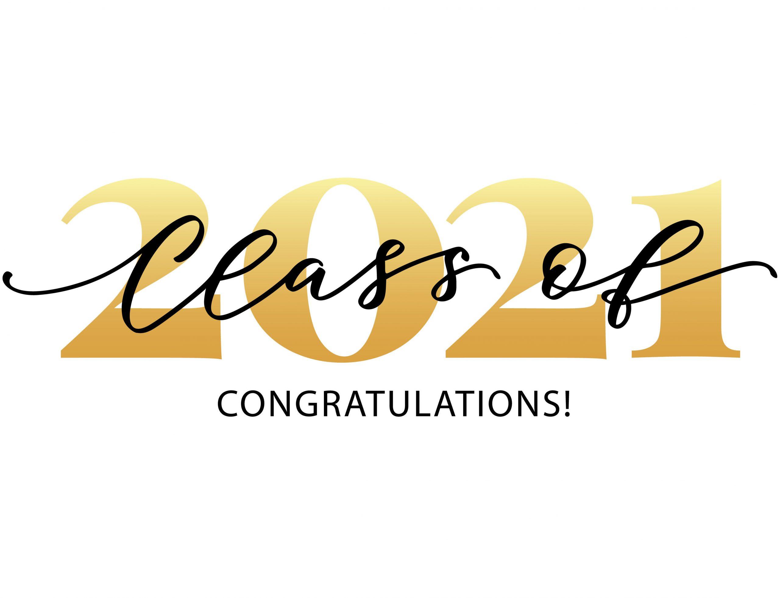 Button for certificate graduates 2021