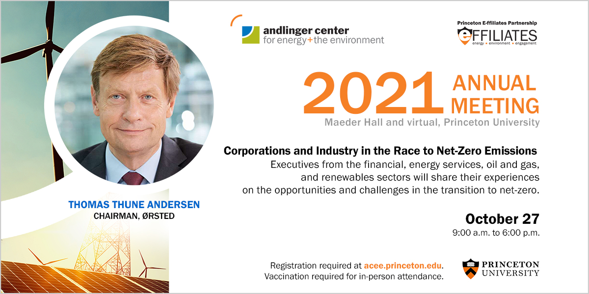 The Annual Meeting catalyzes dynamic discussions on the global transition to net-zero emissions. Speakers from the financial, energy services, oil and gas, and renewables sectors will share their experiences, and offer insights on the opportunities and the challenges as they navigate the transition. Wednesday, October 27. Register now.